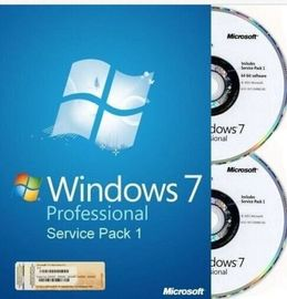 English / French Microsoft Windows 7 Professional OEM Key SP1 64Bit DVD OEM Box