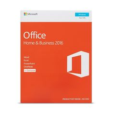 Original Sealed Office 2016 Retail Box Home And Business