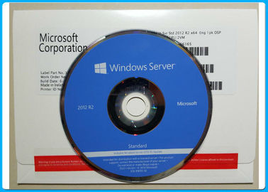 5 CALs Microsoft Windows Server 2012 R2 2CPU / 2VM  FQC P73-6165 No Language Limitation