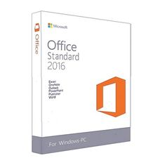 Genuine Microsoft Office 2016 Standard Dvd Retail Box Online Actiavted FPP License Window Operating System For PC
