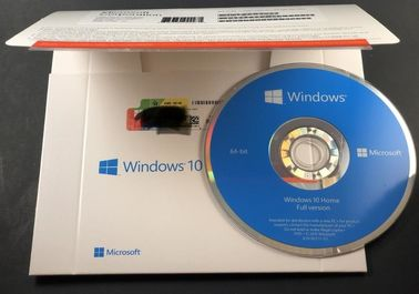 Genuine Microsoft Win10 home 32bit 64bit OEM package coa sticker DVD windows 10 home computer software system