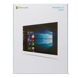 windows 10 Microsoft Windows 10 Home Retail Box Package Win 10 Computer System Software with FPP License Key Code Card